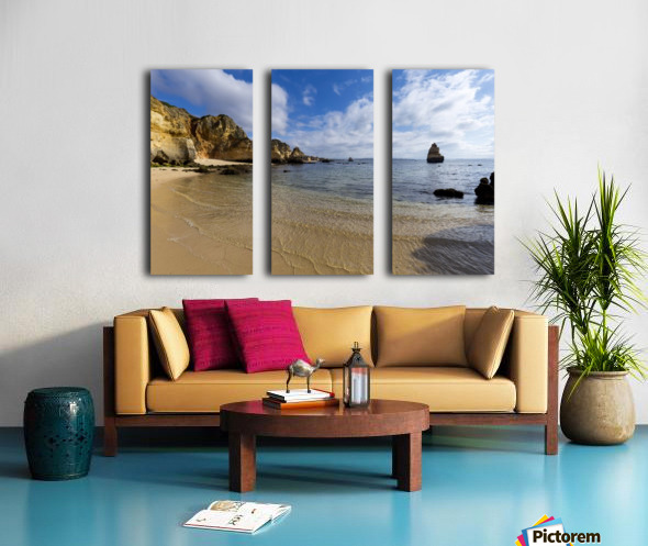 Praia do Camilo Split Canvas print
