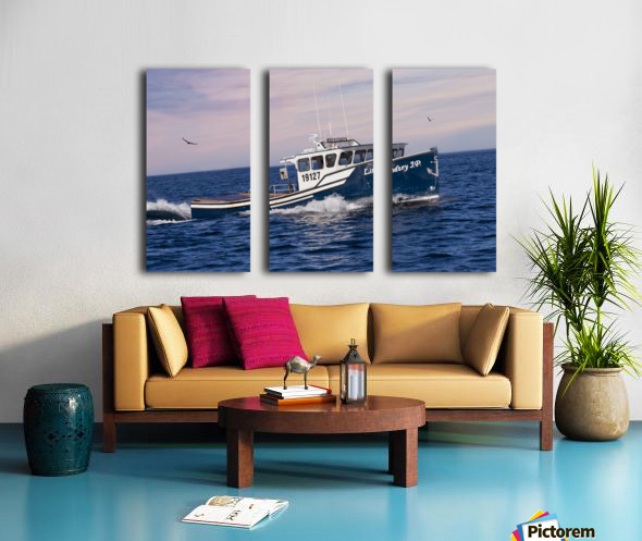 Lindsey J.P. Split Canvas print