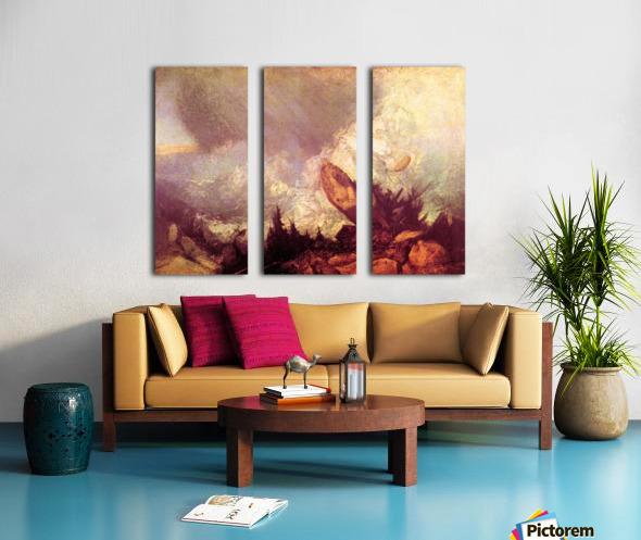 Avalanche by Joseph Mallord Turner Split Canvas print