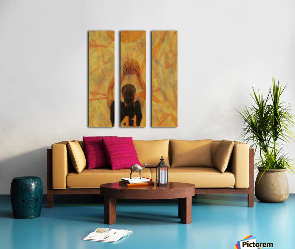 Catch This Split Canvas print