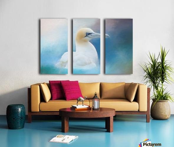 Northern Gannet ver2 Split Canvas print