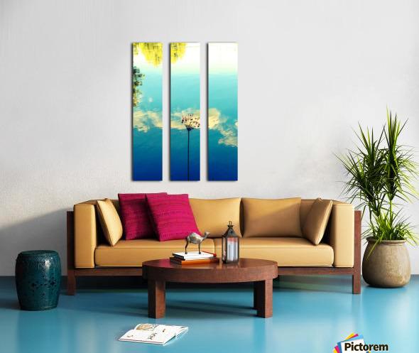 Blue Skies Split Canvas print