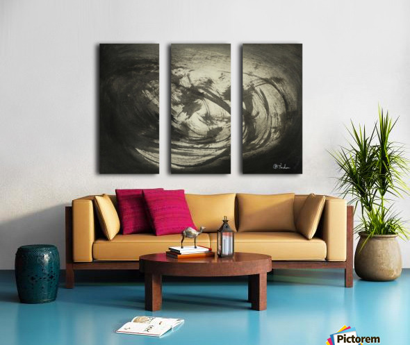 Light of the sky Split Canvas print