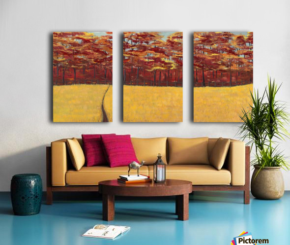Dreams of Autumn Split Canvas print
