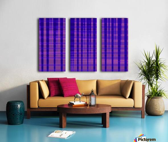 Abstract vioret Split Canvas print