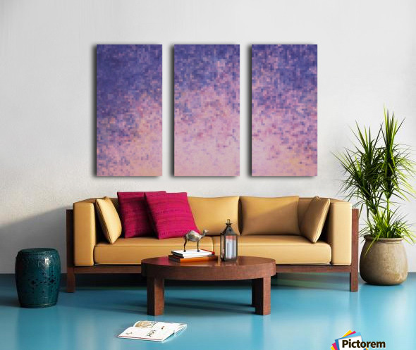 Dream violet Split Canvas print