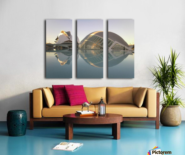 Valencia Split Canvas print