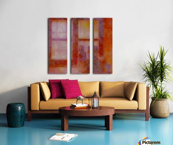 FADED VIEWS Split Canvas print