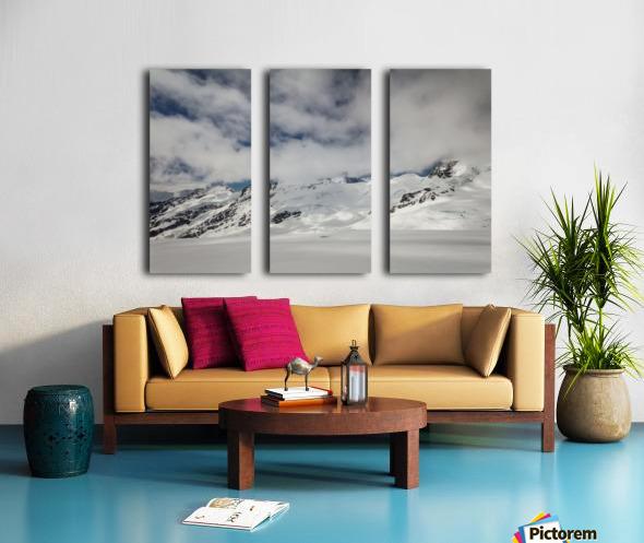 Clouds Crashing Split Canvas print