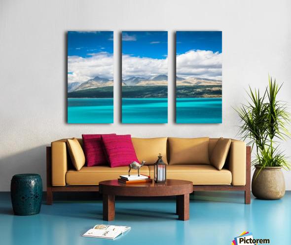 Lake Pukaki Split Canvas print
