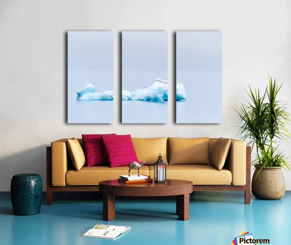 Iceberg Images - Alaska Split Canvas print