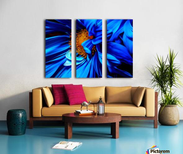 Beautiful Blue Flower_OSG Split Canvas print