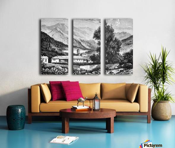 Bardonecchia View_OSG Split Canvas print