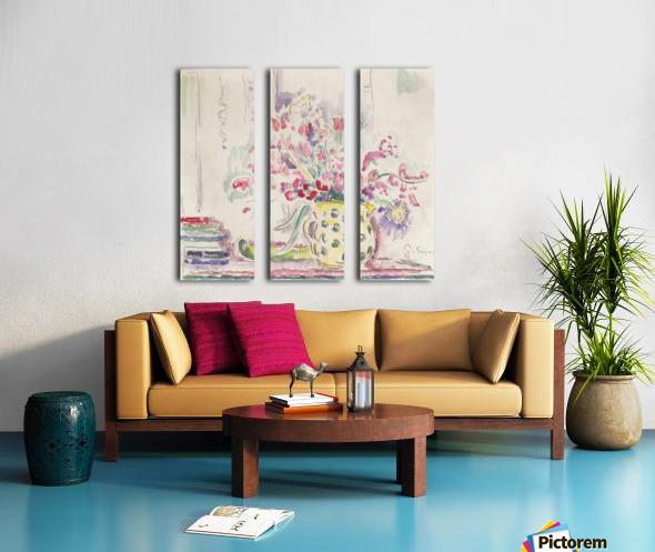 Blumenstillleben Split Canvas print