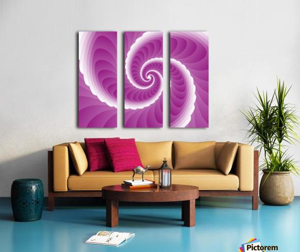 Pinky Art Split Canvas print
