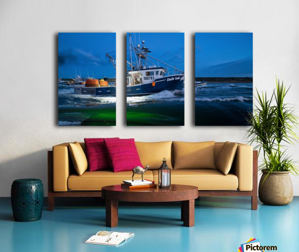Dads Lads Split Canvas print