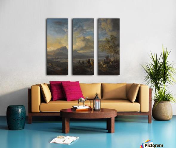 Reigerjacht Split Canvas print