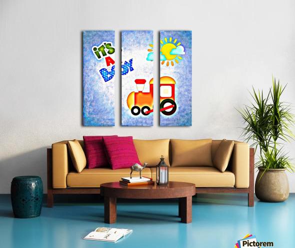 Baby Boy 1_OSG  Split Canvas print
