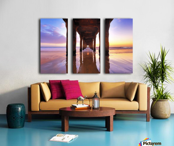 stronger than ever Split Canvas print