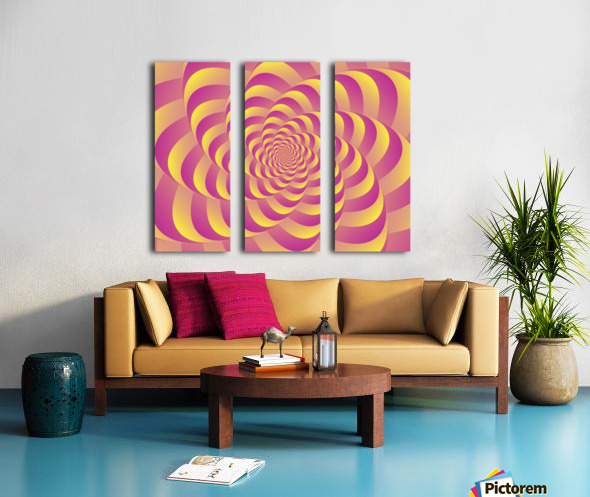 Lollipop  Split Canvas print