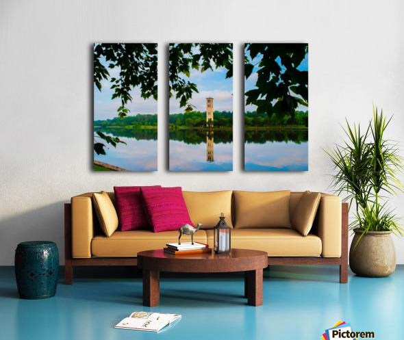 Furman University Split Canvas print