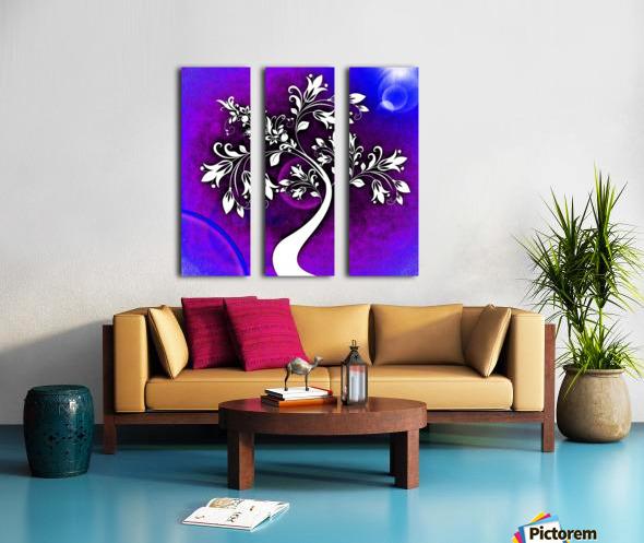 FLOWER TREE 05_OSG Split Canvas print
