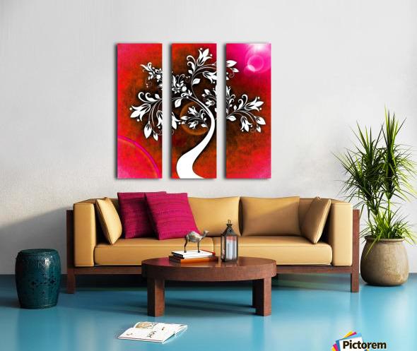 FLOWER TREE 03_OSG Split Canvas print