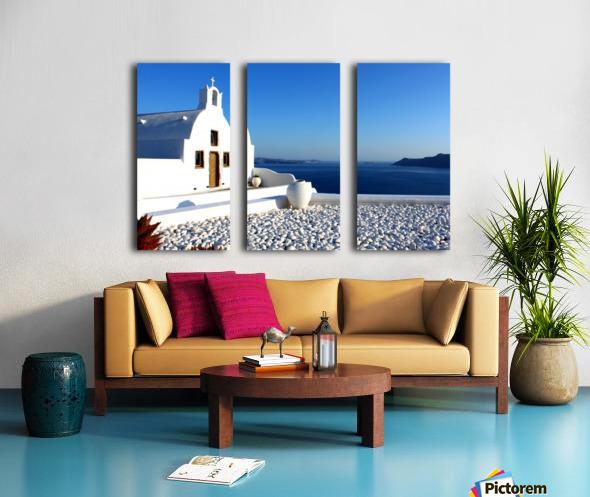 S A N T O R I N I - Greece Split Canvas print