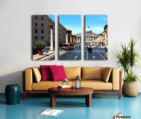 R O M E - Italy Split Canvas print
