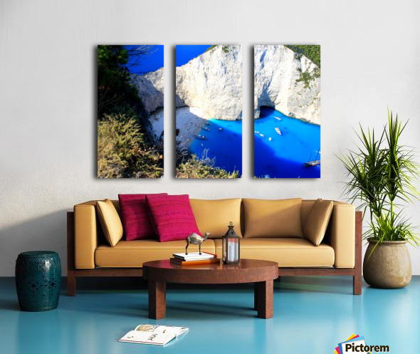 Z A K Y N T H O S - Greece Split Canvas print