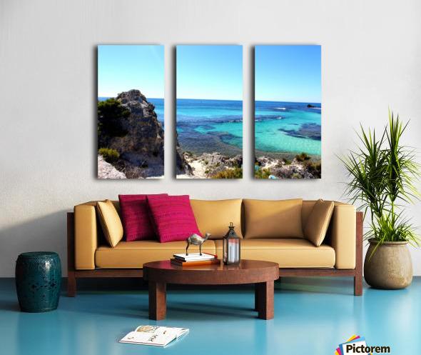 P E R T H - Australia Split Canvas print