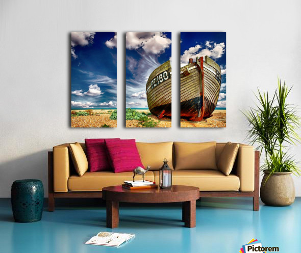 BOAT 01_OSG Split Canvas print