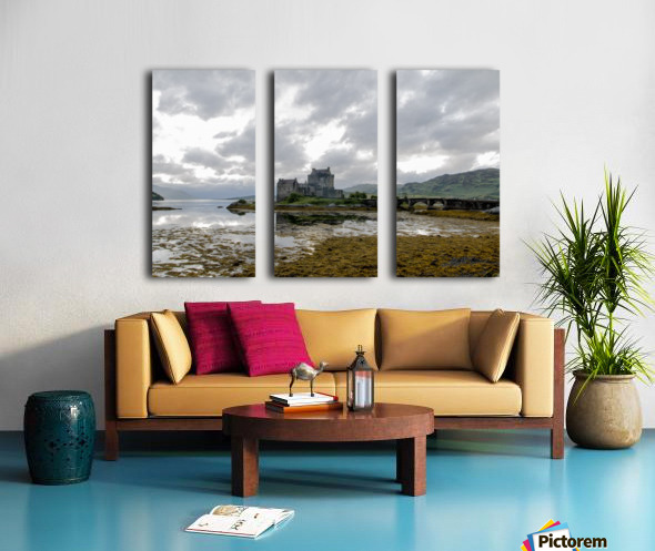 Eilean Donan Castle Split Canvas print