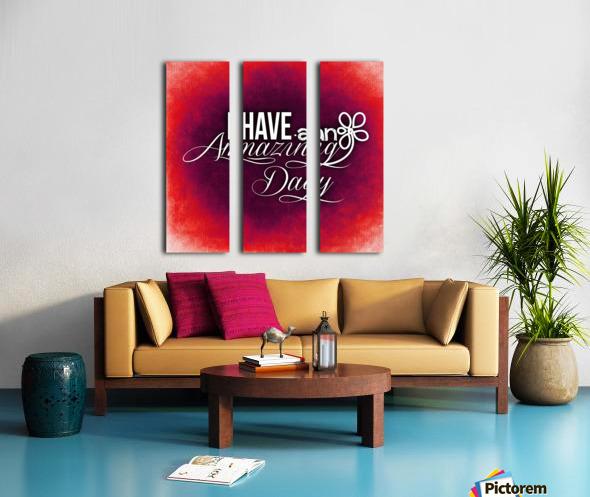 AMAZING DAY 05_OSG Split Canvas print