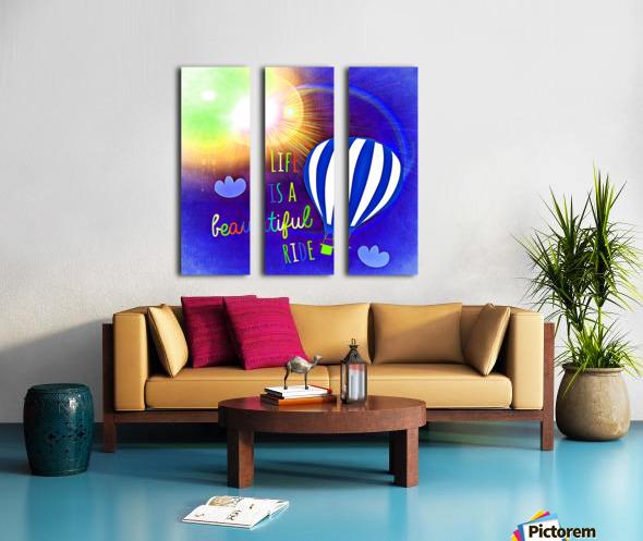 Beautiful Life 03_OSG Split Canvas print