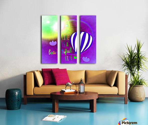 Beautiful Life 04_OSG Split Canvas print