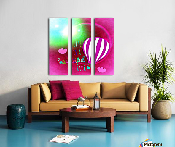 Beautiful Life 06_OSG Split Canvas print