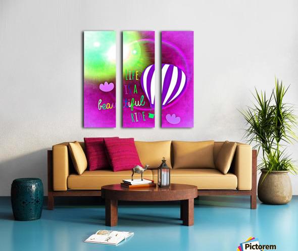 Beautiful Life 05_OSG Split Canvas print