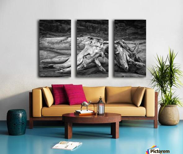 Run Aground - Echouer Split Canvas print