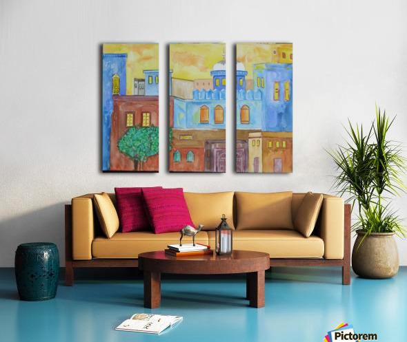 ahson qazicityscape Split Canvas print