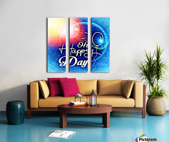 Happy Day_OSG Split Canvas print