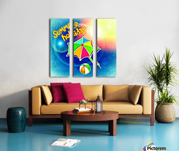 Summer_OSG_1533091144.37 Split Canvas print
