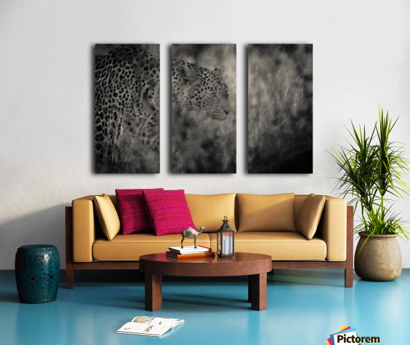 Hunter Split Canvas print