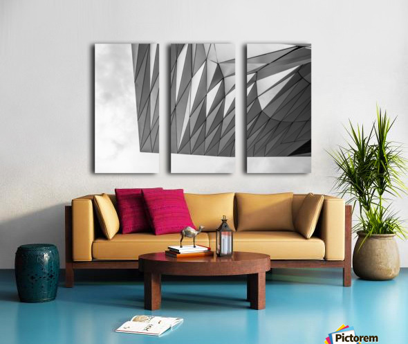 Musée des Confluences Split Canvas print