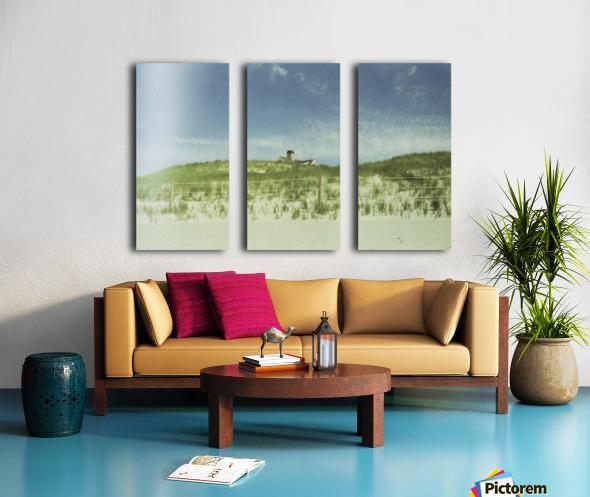 Dunes Split Canvas print