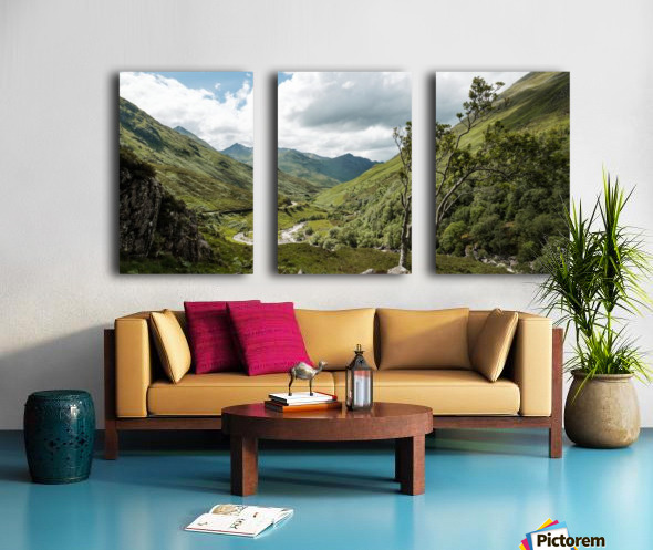 Glen Shiel Toile Multi-Panneaux