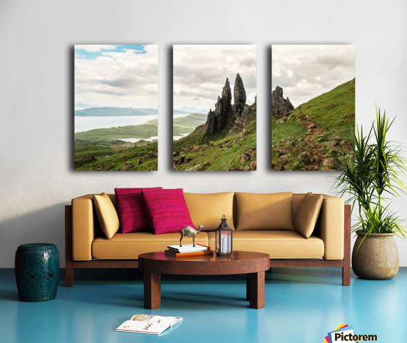 The Old Man of Storr Toile Multi-Panneaux