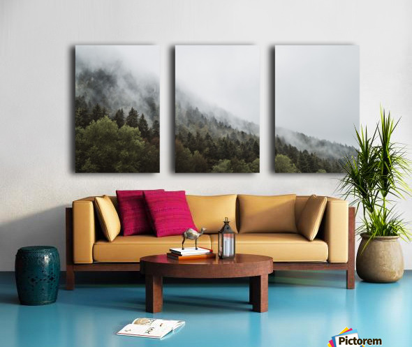 Brume de Montagne Toile Multi-Panneaux