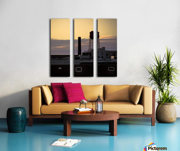 City Rooftops C Split Canvas print
