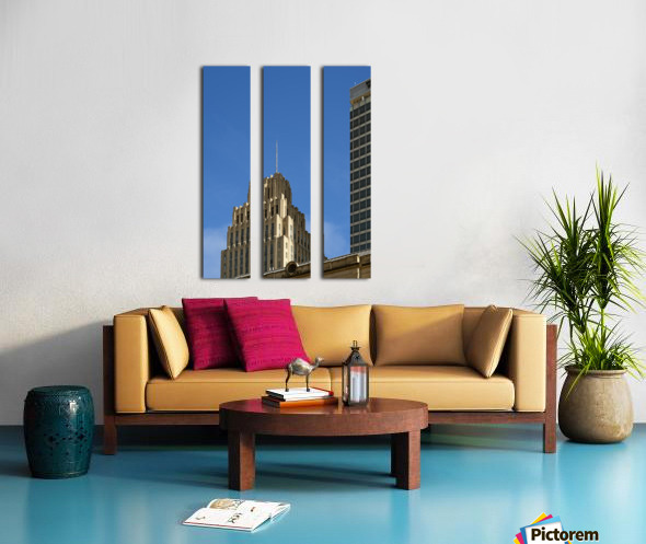 Historic Reynolds Building Split Canvas print